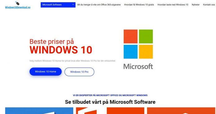 Anmeldelse av ny side om Windows 10