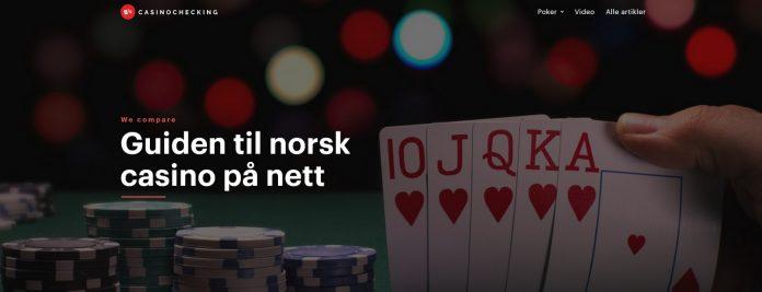 Anmeldelse av nettsiden Casinochecking.com