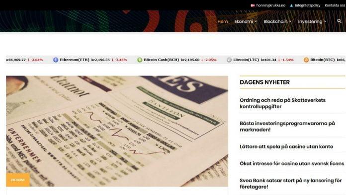 Anmeldelse av världensekonomi.se